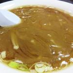 壱岐食堂 - フカヒレ麺 850円。