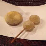 料理旅館・天ぷら吉川 - 栗と銀杏