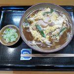 みなと - 親子そば(850円)