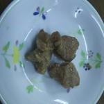 竹山食堂 - お通し