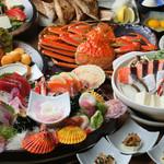 王滝マルシェ つきぢや食堂 - 料理写真:ボリュームたっぷりな宴会コース※写真はイメージ