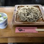 利休庵 - 十割そば(905円+消費税)