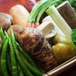 天宗 - 旬の京野菜
