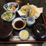 活魚料理の店 網元 - 天ぷら定食