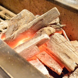 備長炭で丹念に焼き上げています!炭火焼に自信あり!