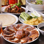 台湾料理故宮 - 料理写真:北京ダックセット