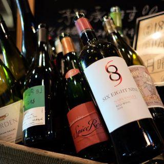 お酒好き必見!ワインやビールに合う季節のお料理。