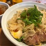 らーめん 孫子 - 濃厚サケ節つけ麺(800円)