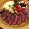 肉バル RISE - 料理写真:炭火焼ハラミグリル250g