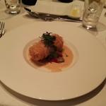 大宮モノリス - 真鯛のカダイフ包み オーブン焼き       シトロン香る白ワインソース
