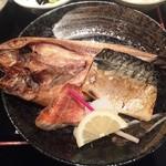 59539947 - 161026焼魚定食850円ホッケ、赤魚、サバ