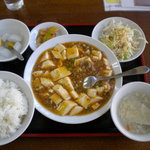 5954006 - 麻婆豆腐ランチ