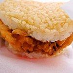 モスバーガー - ライスバーガー海鮮かきあげ(塩だれ仕立)