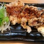 麺家 神明 - 鶏の唐揚げ