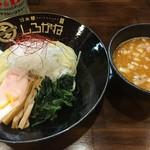 らぁ麺 しろがね - 料理写真:鶏コテつけ麺1.5玉(税込910円)