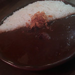 curry bar nidomi - 料理写真:特製欧風牛すじカレー