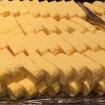 京都 ことこと - 鮮やかな黄色は濃厚で新鮮な証