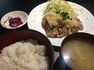 焼鳥 Ryoma - 鶏のみぞれ定食