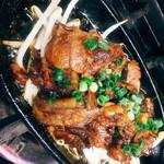 豚ナンコツ炙り焼き
