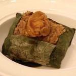 映月樓 - 原隻鮑魚荷葉飯、48香港ドル