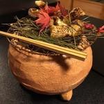美山荘 - 焼き松茸