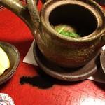 美山荘 - 松茸土瓶蒸し