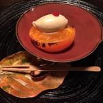 美山荘 - 大城柿柿の葉アイス冬苺