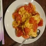 59547144 - トマトと玉子炒め