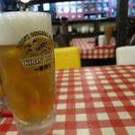 韮菜万頭 - 生ビール 580円