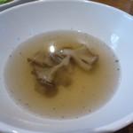ランテルナロッサ - 舞茸のスープ