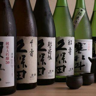 当店では美味しい日本酒を揃えています!