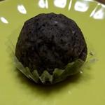 森のおはぎ - 16.11ほうじ茶黒米餅