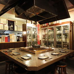 日本酒スローフード とやま方舟 - 最大12名様で貸し切り可。円卓囲炉裏席はお1人さまでも!