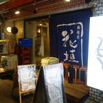 地酒や もっと - 2016.12 大塚駅南口のタクシーロータリーの真裏に当たる辻にあります。