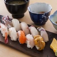 レストラン 彩り - 日本海地魚寿司御膳