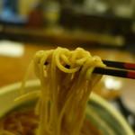 にわ - 2016.12 お決まりの麺リフト:笑