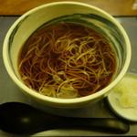 にわ - 2016.12 セット(1600円)の温かい蕎麦