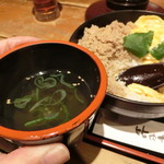 59554452 - 鶏スープ美味し。お替わりしたくなりました(^^)