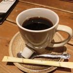 ひないや - ドリンク写真:サービスの本格派コーヒー