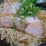長田屋 - 濃厚煮干し中華そば750円煮干しマニアックな人には少し物足りない仕様。