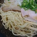 長田屋 - 中太麺