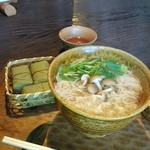 にゅうめんと柿の葉寿司