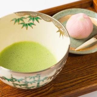 種類豊富な日本茶~スイーツやランチ・ディナーと共に~