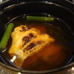 白鳥 甲羅本店 - 味噌汁