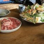 はせ川 - ミルクポークの鍋