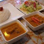 スリランカ・インド家庭料理 TANGALLE - Bセット、¥950