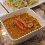 スリランカ・インド家庭料理 TANGALLE - マグロカレー(fish curry)