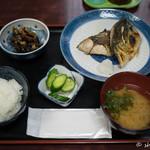 魚料理 ホノルル食堂 - 2016.11 さばの塩焼き定食