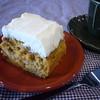 カフェ サバド - 料理写真:クリームチーズのアイシングたっぷりのホームメイドキャロットケーキ
