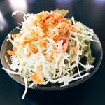 Curry Dining MOMO - Aセット100円追加メニュー;サラダ